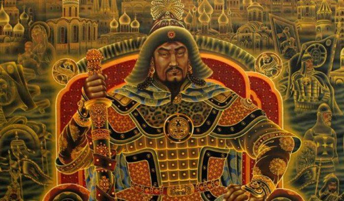 Рис. 3. Хан Батый - сын Джучи и внук Чингисхана