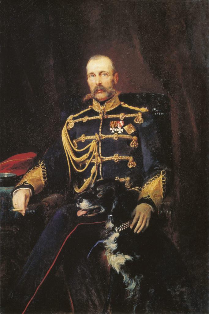 Рис. 4. «Портрет Александра II». К. Маковский