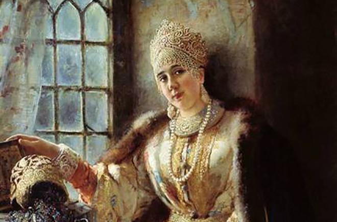 Рис. 4. Анастасия Захарьина-Юрьева, первая жена Ивана Грозного