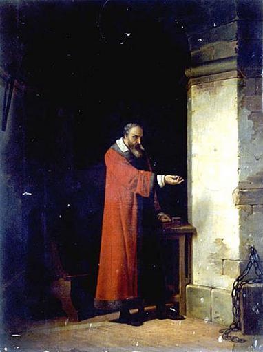 Рис. 5. Галилей в тюрьме. Автор Жан Антуан Лоран