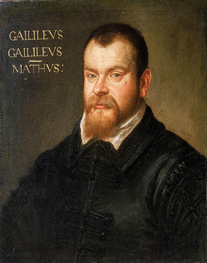 Рис. 1. Галилео Галилей. Доменико Тинторетто. 1605—1607 гг.