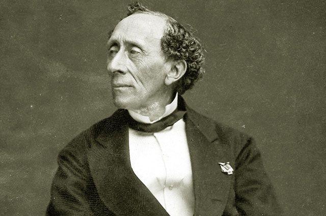 Рис. 3. Ганс Христиан Андерсен. 1869 год