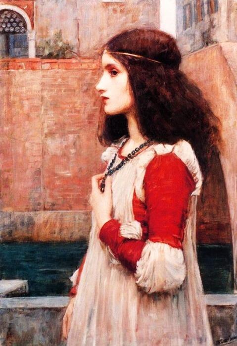 Рис. 4. Джульетта. Автор Джон Уильям Уотерхауз