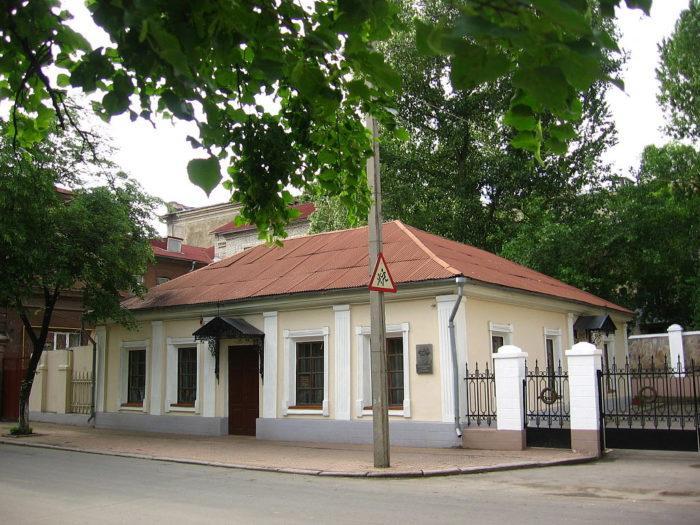 Рис. 6. Дом семьи Далей в Луганске, сейчас дом-музей