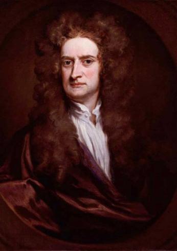 Рис. 5. Исаак Ньютон. Г. Кнеллер. 1702 год