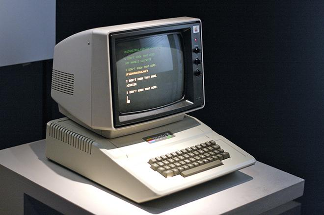Рис. 9. Компьютер Apple II