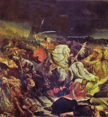 Рис. 5. Куликовская битва. Автор Адольф Ивон. 1859 год