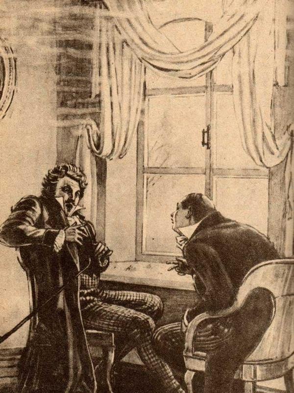 Рис. 4. Манилов и Чичиков