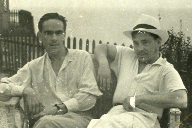 Рис. 3. Муса Джалиль и Ахмет Исхак