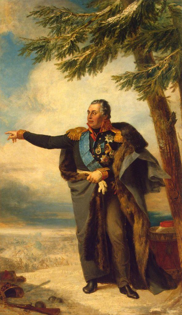 Рис. 2. М. И. Кутузов. Д. Доу. 1829 год