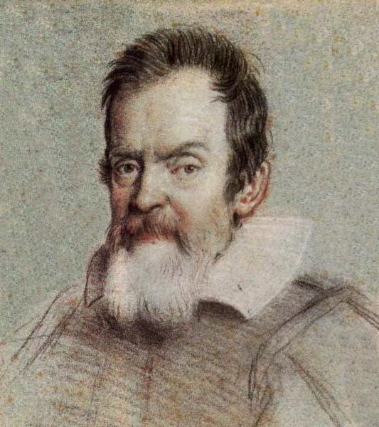 Рис. 3. Портрет Галилео Галилея работы Оттавио Леони