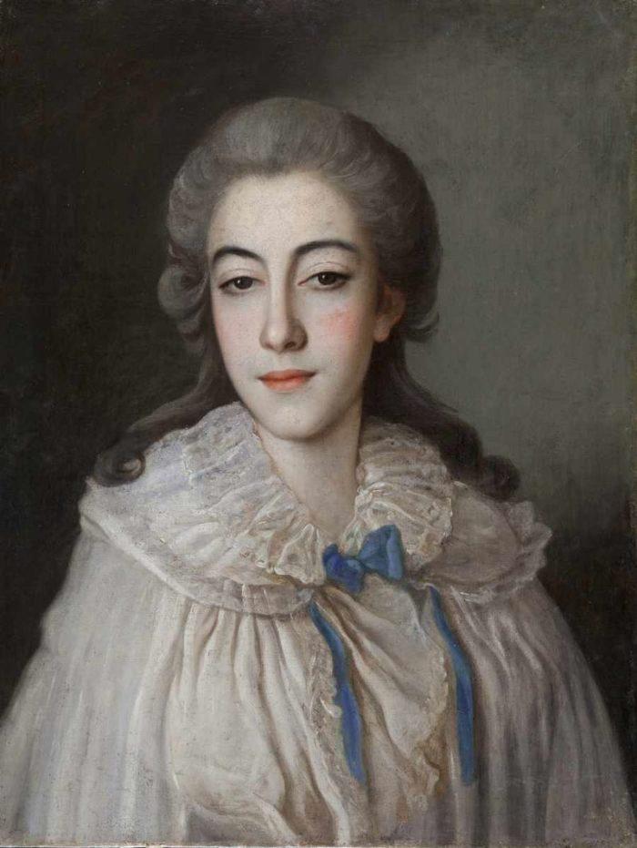 Рис. 5. Свадебный портрет жены полководца. Конец 1770-х - 1780-е