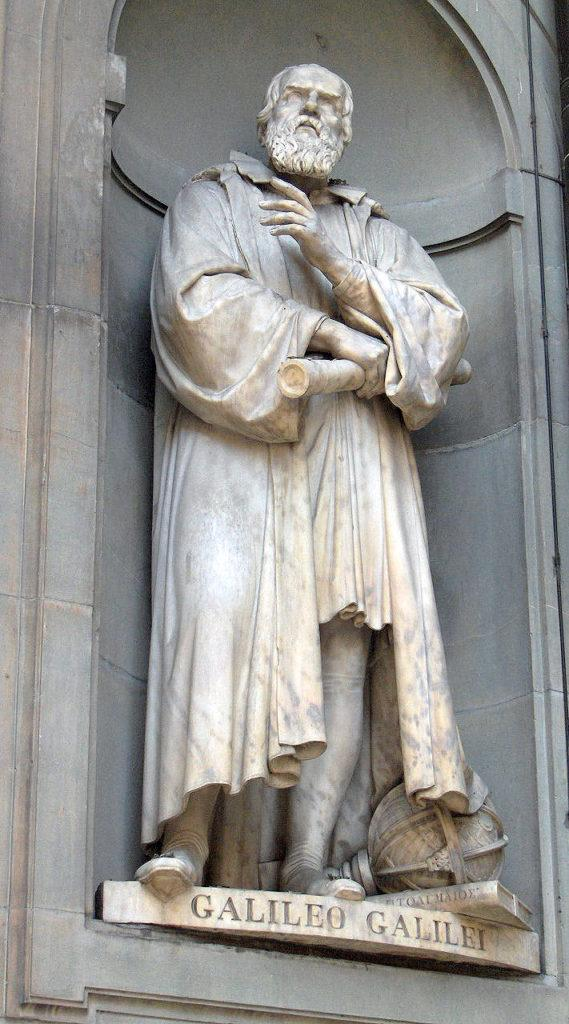 Рис. 7. Статуя Галилея во Флоренции, скульптор Котоди (1839)