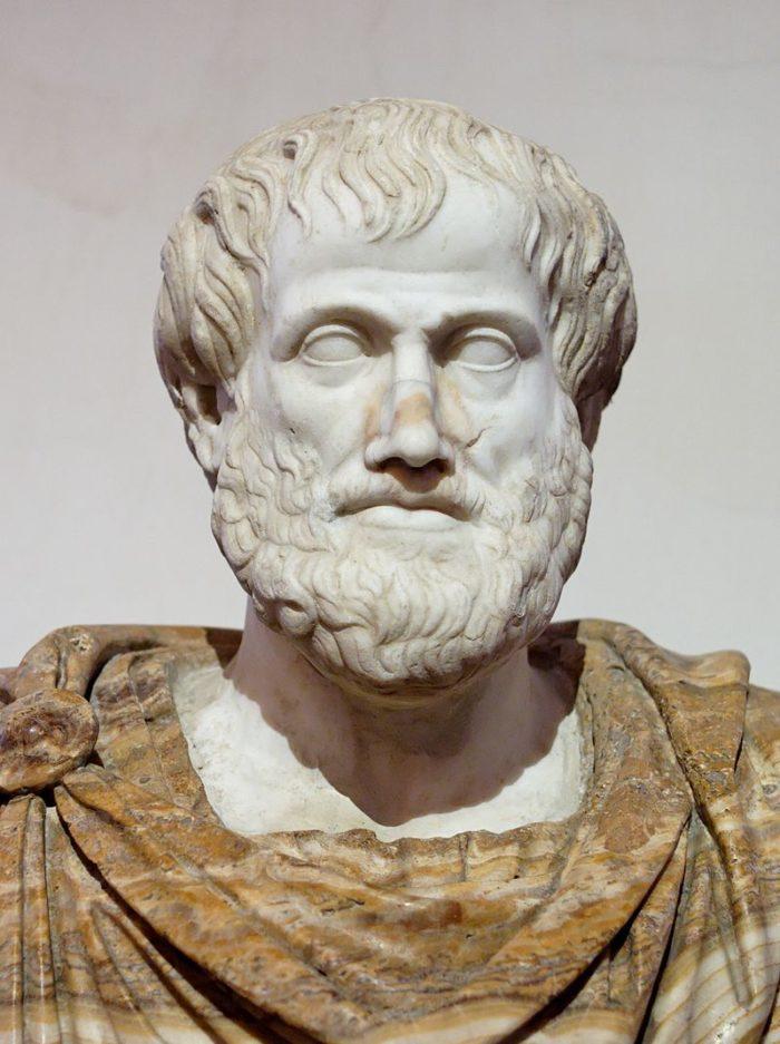 Рис. 1. Бюст Аристотеля, римская копия оригинала Лисиппа