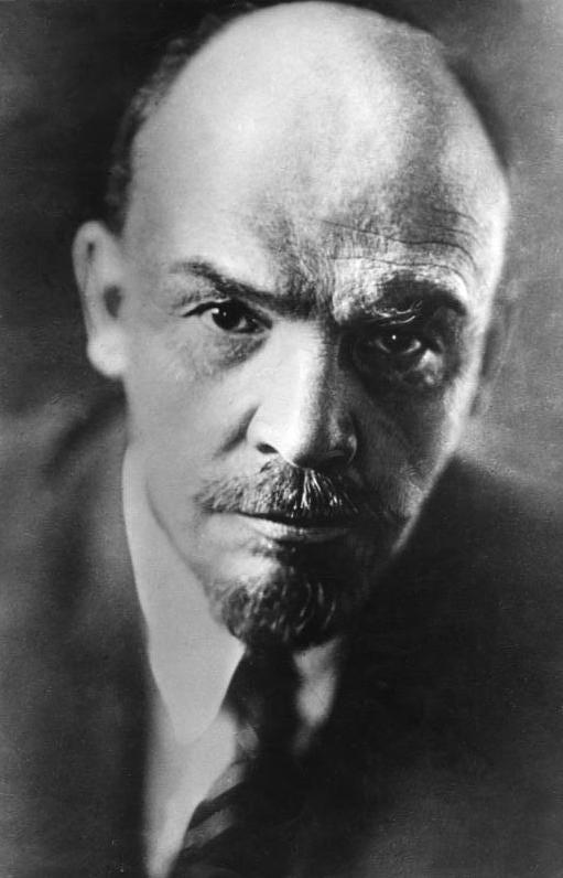 Рис. 1. Владимир Ленин. Фото Павла Жукова. 1920 год