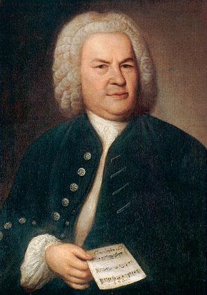 Рис. 1. Иоганн Себастьян Бах. Портрет 1746 года