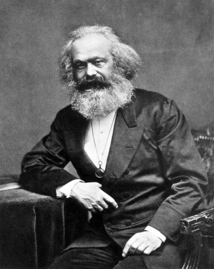 Рис. 1. Карл Маркс - первым высказал научные идеи коммунизма