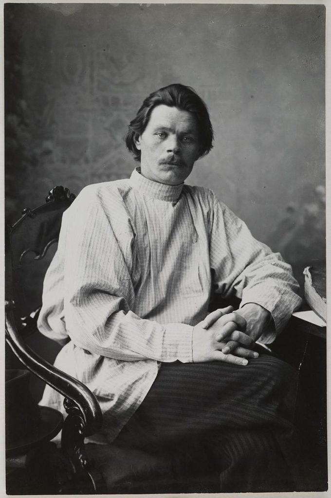 Рис. 1. Максим Горький. Фото 1900 года