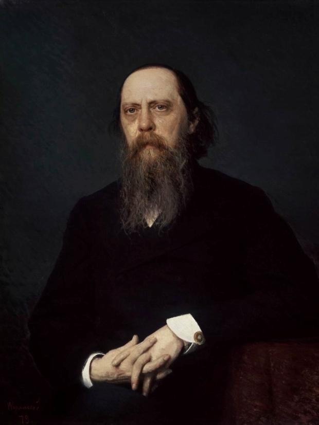 Рис. 1. Михаил Евграфович Салтыков-Щедрин. И. Крамской. 1879 год