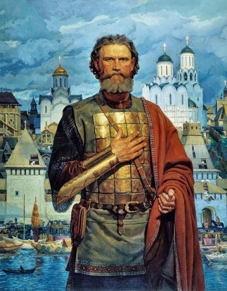 Рис. 1. Московский князь Дмитрий Донской. В. Маторин