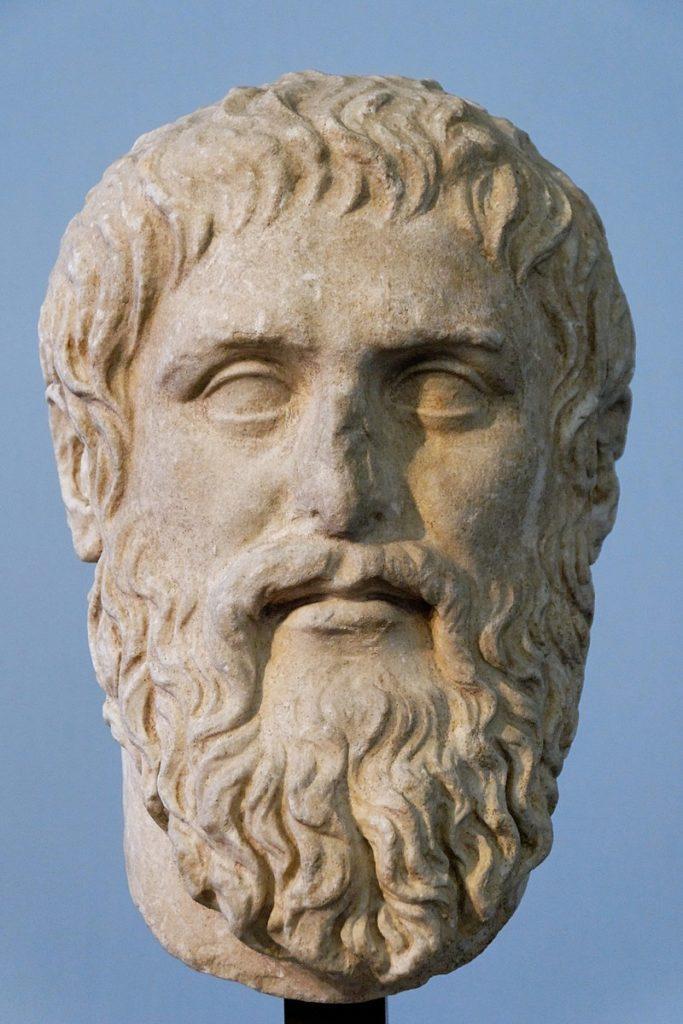 Рис. 1. Платон - копия бюста работы Силаниона, создана для Платоновой Академии