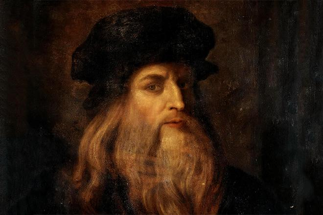 Рис. 1. Портрет Леонардо да Винчи