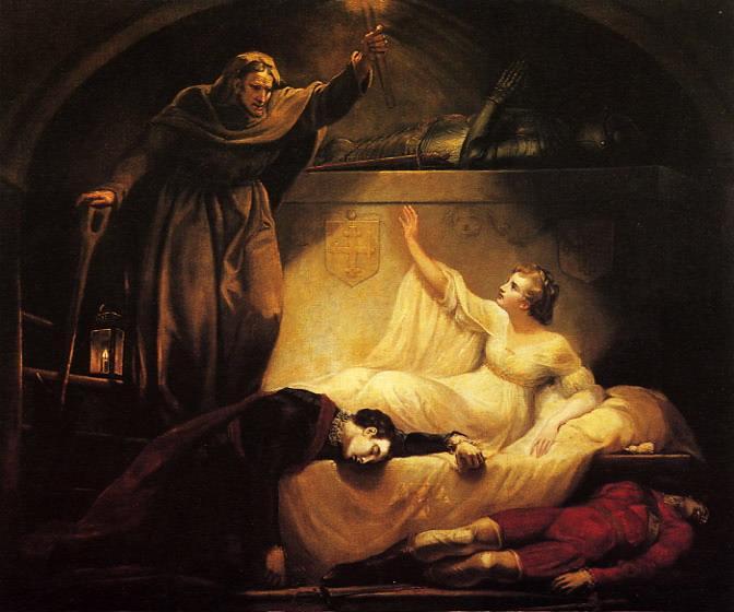 Рис. 1. Ромео и Джульетта. Автор James Northcote