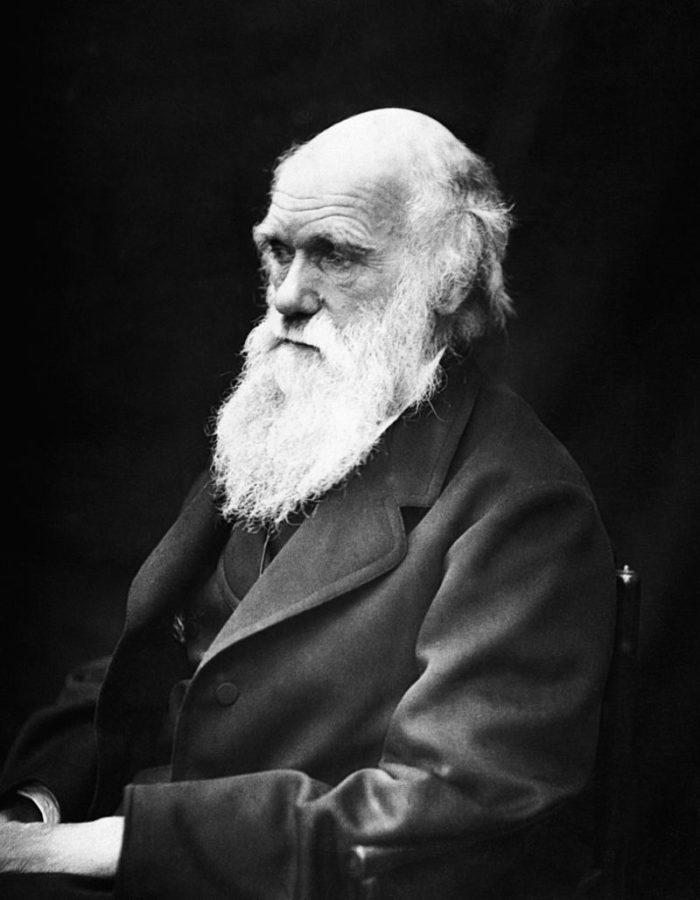 Рис. 1. Чарлз Роберт Дарвин. Фото 1868 года