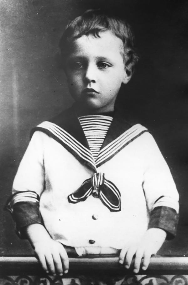 Рис. 2. Александр Блок в детстве