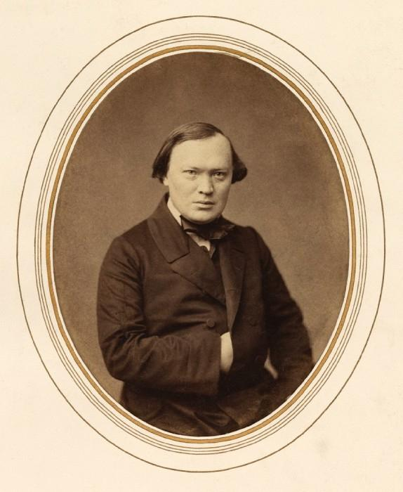 Рис. 2. Александр Николаевич Островский. 1856 год