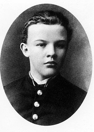 Рис. 3. Выпускник Симбирской гимназии Владимир Ульянов. 1887 год
