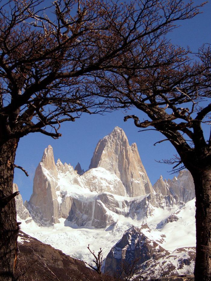 Рис. 2. Гора Фицрой. Эль Чальтен. Аргентина