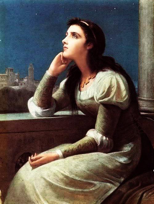 Рис. 2. Джульетта. Автор Philip H. Calderon