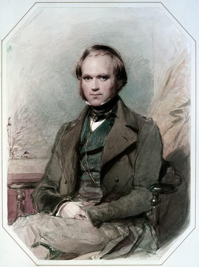 Рис. 3. Еще будучи молодым человеком, Дарвин стал членом научной элиты. Джордж Ричмонд. 1830-е годы