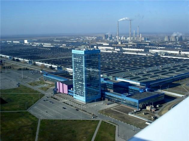 Рис. 2. Завод ВАЗ в Тольятти