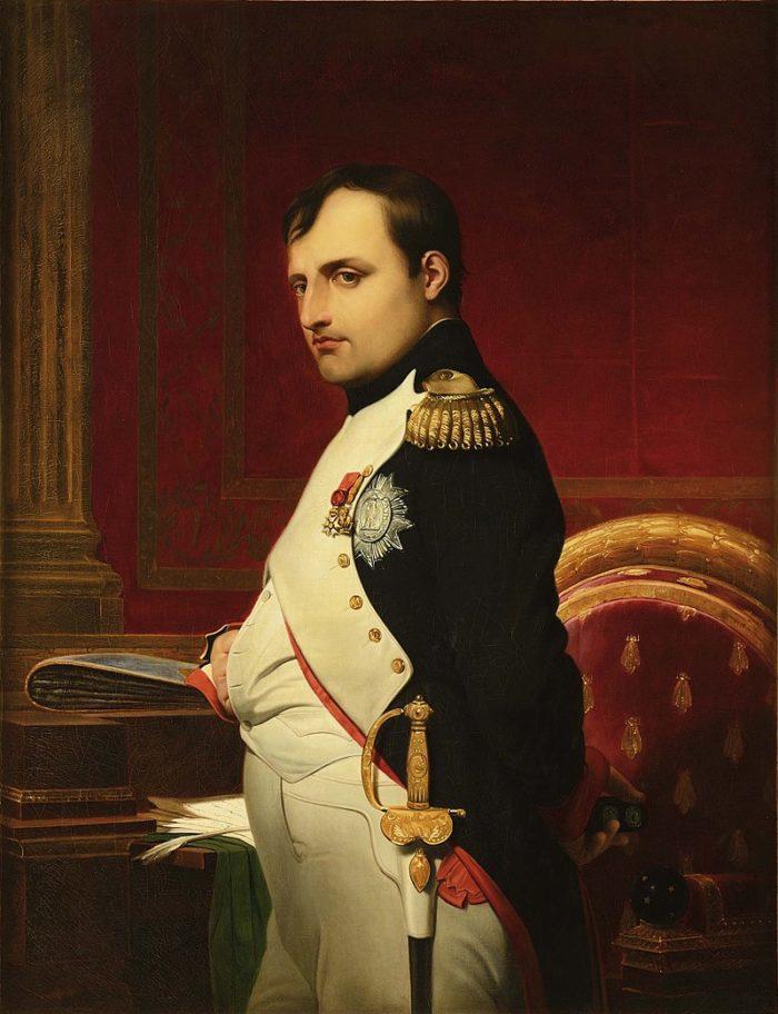 Рис. 2. Наполеон I Бонапарт. Автор Поль Деларош