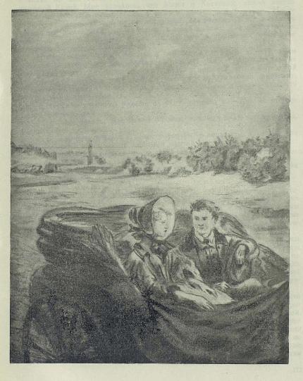 Рис. 2. Николенька и Катенька. Иллюстрации К. А. Клементьевой