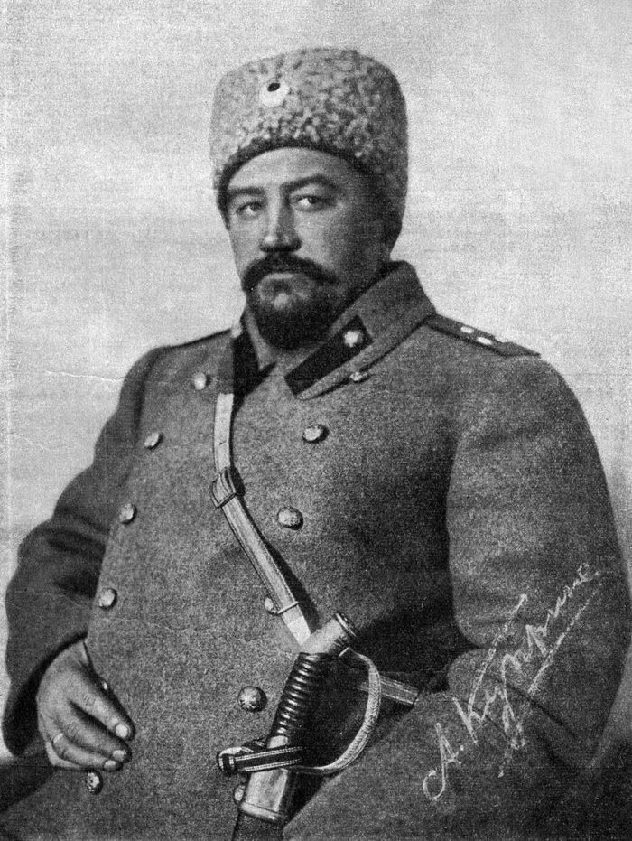 Рис. 2. Поручик Куприн. Автор П. Глыбовская. 1914 год