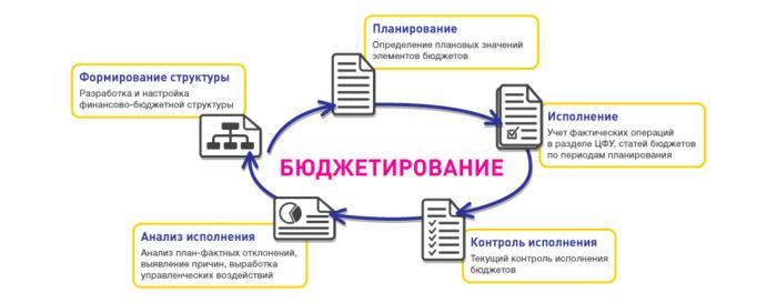 Рис. 3. Структура бюджетирования