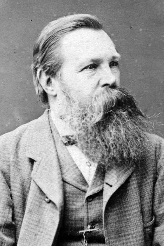 Рис. 2. Фридрих Энгельс - один из основоположников марксизма