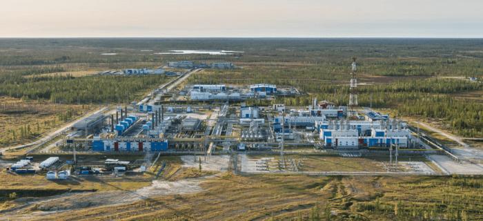 Рис. 2. Южно-Русское месторождение нефти