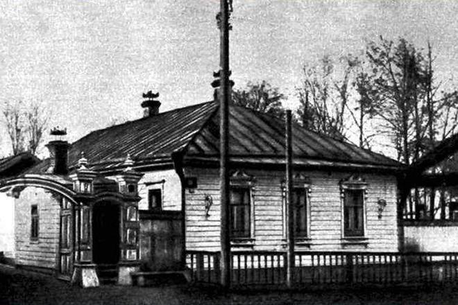 Рис. 3. Дом Михаила Салтыкова-Щедрина в Вятке
