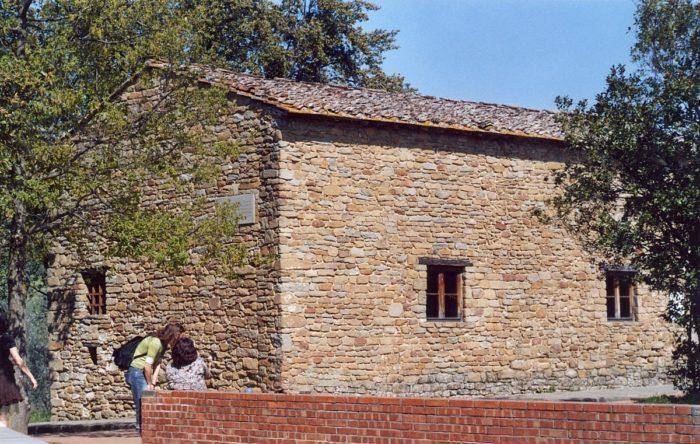 Рис. 3. Дом, в котором жил Леонардо в детстве