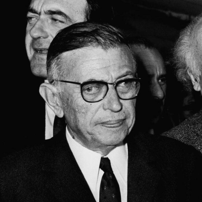Рис. 3. Жан-Поль Сартр. Фото 1967 года