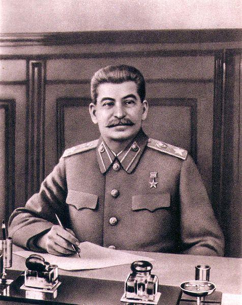 Рис. 3. Иосиф Сталин в 1946 году