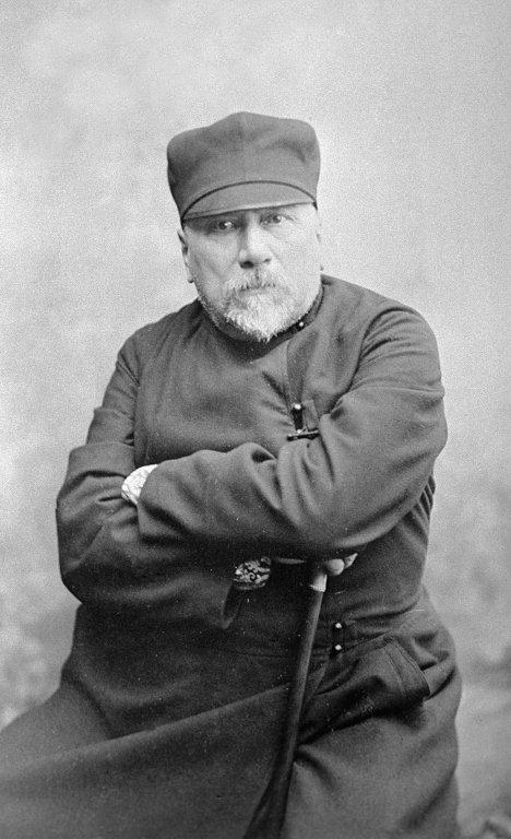 Рис. 3. Николай Лесков. 1880-е годы