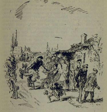Рис. 2. Пан Туркевич. Иллюстрация Н. Кустова