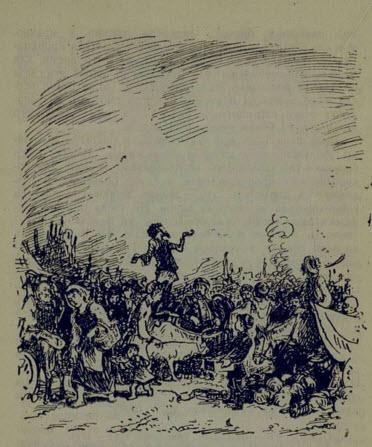 Рис. 3. Пан Тыбурций. Иллюстрация Н. Кустова