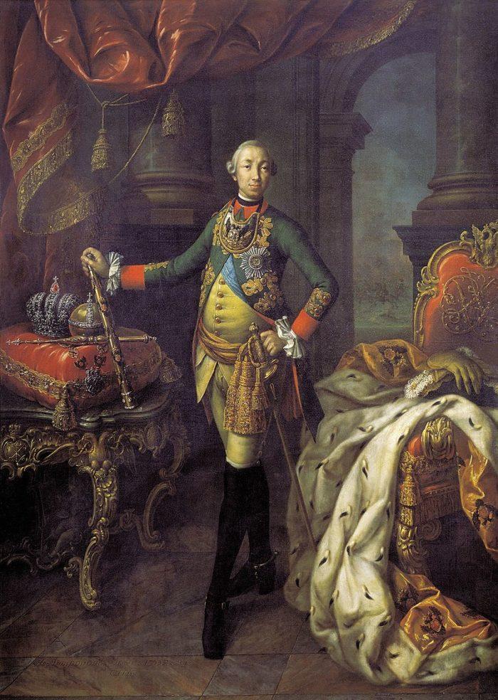 Рис. 3. Петр III. Художник А. П. Антропов. 1762 год