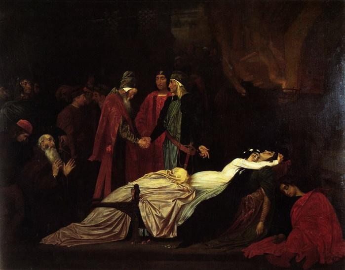 Рис. 3. Примирение Монтекки и Капулетти. Автор Frederick Leighton